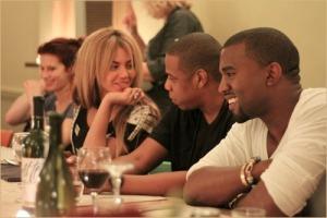 Beyonce-Jay-Z-Kanye-West