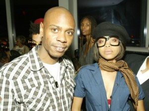 Erykah Badu at her CD release and birthday party