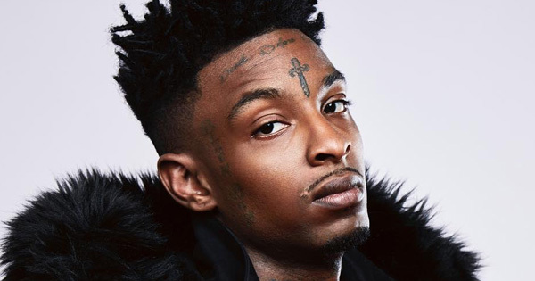 did 21 savage get his famous knife tattoo removed