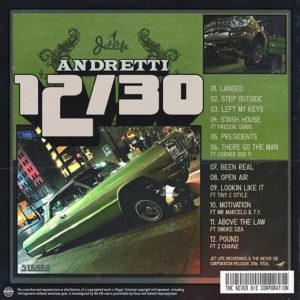 andretti-1230-tracklist